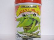 Pachranga, Green Chillies, Pickle in Oil, 800g